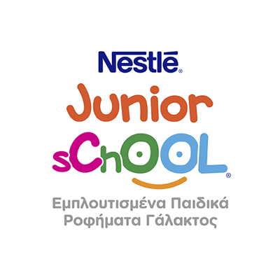 Nestle Junior & School logo 2019